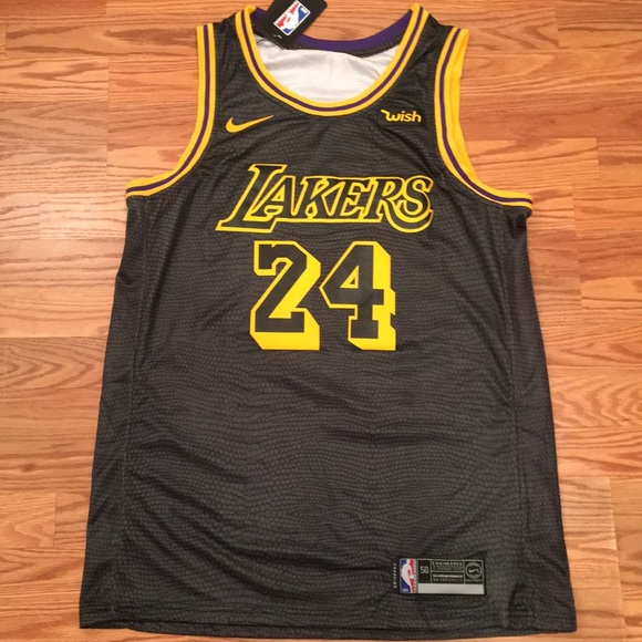 size 40 62449 6a911 Kobe Bryant Lakers City Edition jersey. NWT. NWT